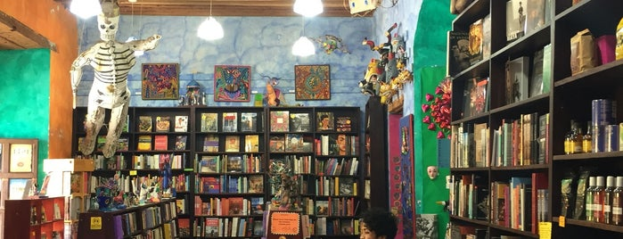 Amate Books is one of Oaxaca.
