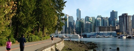 Stanley Park is one of Vancouver/Seattle.