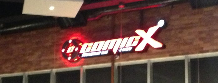 ComicX is one of Restaurantes en los que he comido!!!.