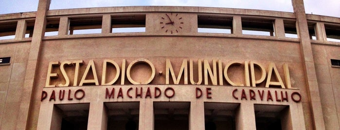 Estádio Municipal Paulo Machado de Carvalho (Pacaembu) is one of Emilyさんのお気に入りスポット.