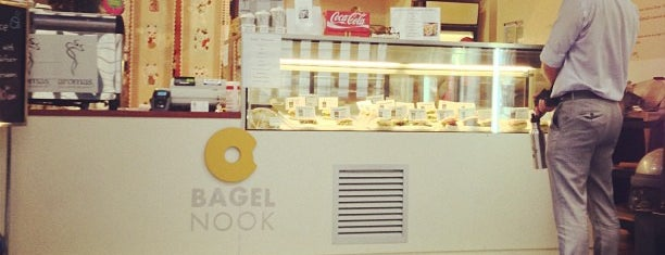 Bagel Nook is one of Ashley'in Kaydettiği Mekanlar.