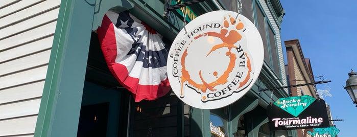 Coffee Hound Coffee Bar is one of Maine.