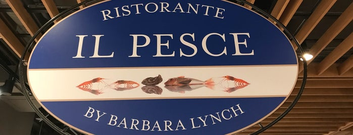 Il Pesce at Eataly is one of Went: Sida + Josh.