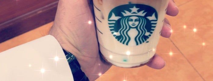 Starbucks is one of Samah 님이 좋아한 장소.