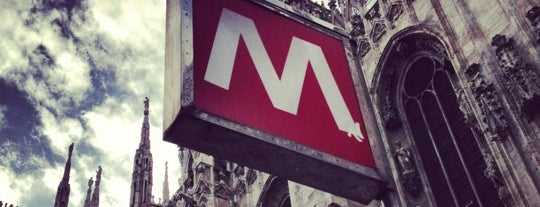 Metro Duomo (M1, M3) is one of #SMW2014 #SMWMLN.