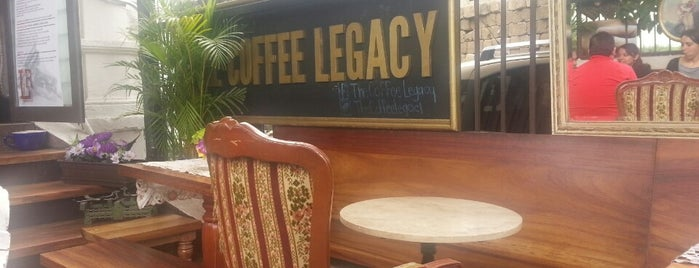 Legacy Roasters Coffee is one of Cafe..