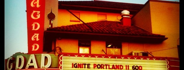Bagdad Theater & Pub is one of Portland Faves.