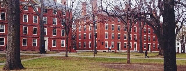 Harvard Yard is one of Boston.