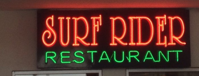 Surf Rider is one of Non RVA Restaurants & bars.