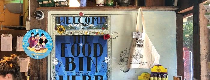 The Food Bin is one of HWY1: Santa Cruz to Monterey/Carmel.