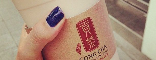 GONG CHA is one of 서울버블티.