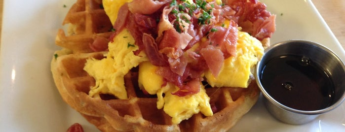 Bru's Wiffle - A Waffle Joint is one of SIGGRAPH, yo..
