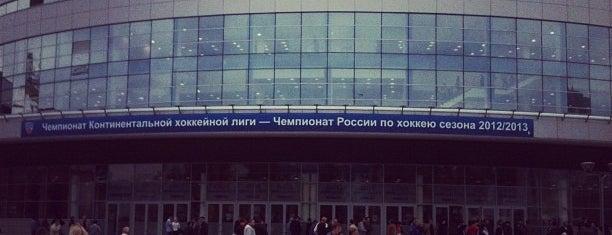 Ufa Arena is one of Tempat yang Disukai Igor.