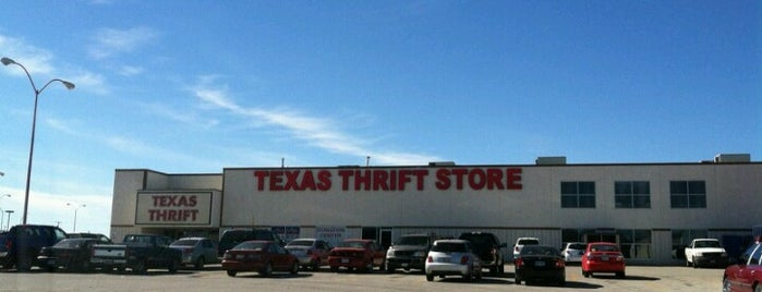 Texas Thrift is one of Thrifting.