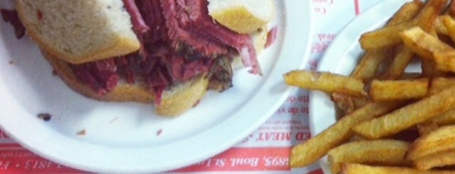 Schwartz's Montreal Hebrew Delicatessen is one of Montreal.