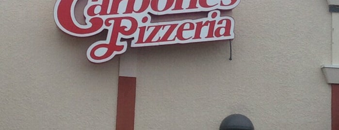 Carbone's Pizzeria is one of Tempat yang Disukai Aaron.