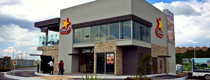 Carl's Jr. is one of สถานที่ที่ Dave ถูกใจ.