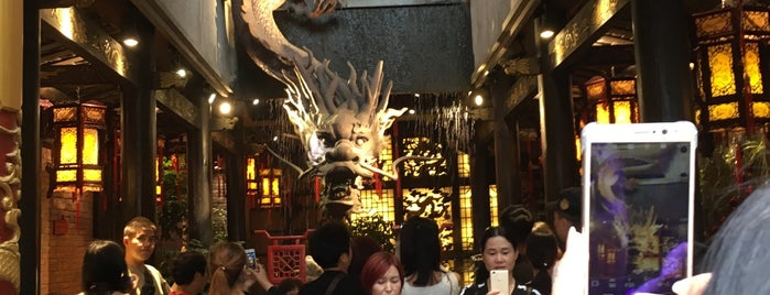 小龙翻大江 is one of Chengdu.