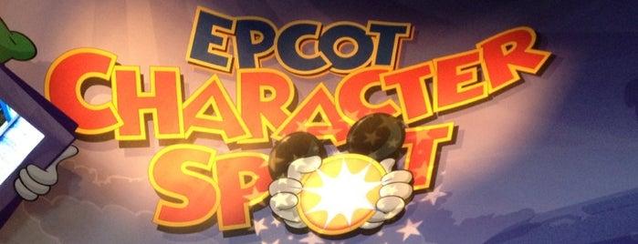 Epcot Character Spot is one of Walt Disney World.