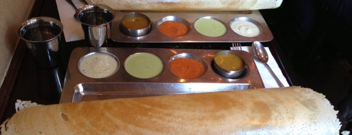 Saravanaa Bhavan is one of Where to Eat Indian Food in NYC.
