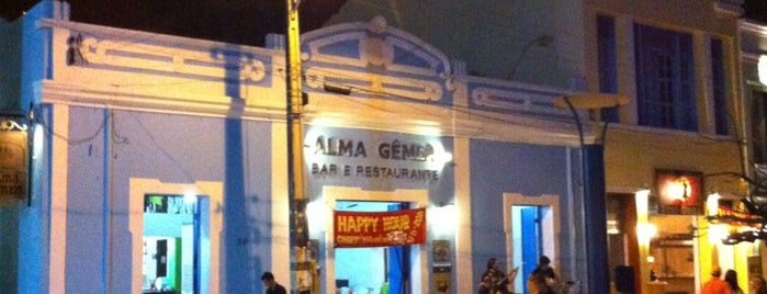 Alma Gemea Bar e Restaurante is one of Bar.
