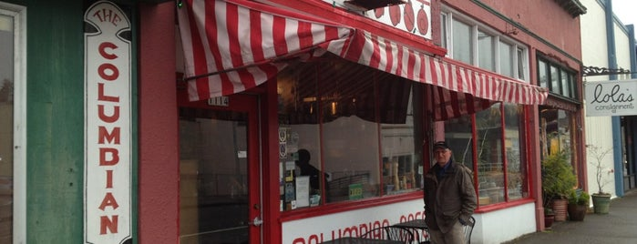 Columbian Cafe is one of Astoria, Oregon.