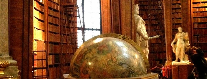 Österreichische Nationalbibliothek is one of Autriche.