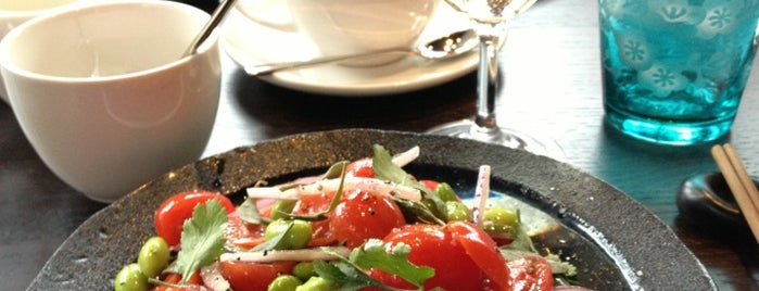 Brompton Asian Brasserie by Novikov is one of London food.