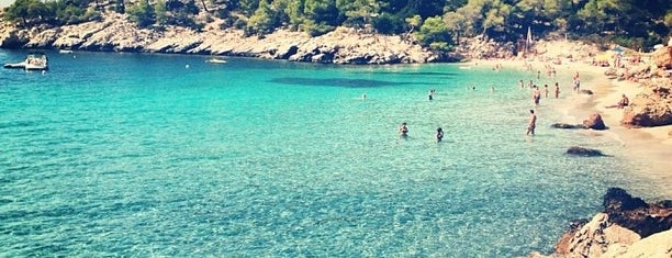 Cala Saladeta is one of Ibiza.
