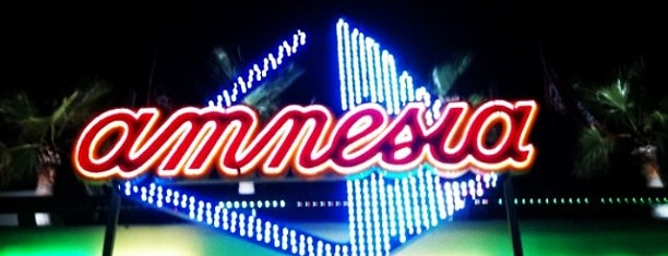 Amnesia Ibiza is one of Ibiza - Night.