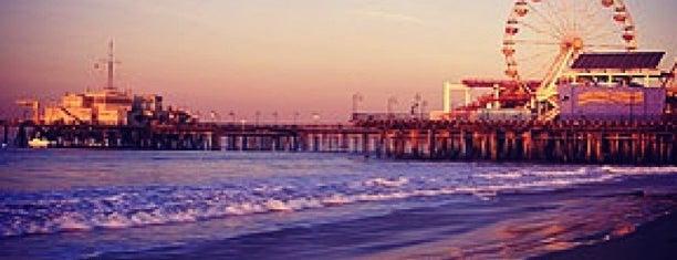 Boardwalk - Santa Monica Beach is one of Route 66 Roadtrip.
