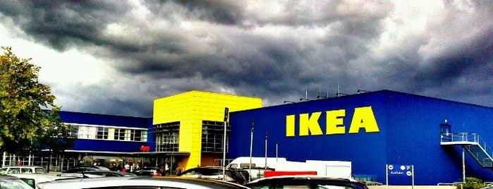 IKEA is one of Tempat yang Disukai Sascha.