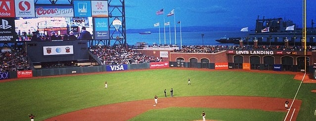 Oracle Park is one of San Francisco - 2014 trip.
