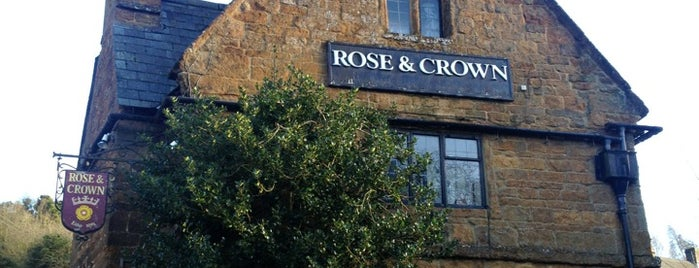 Rose & Crown is one of Carl 님이 좋아한 장소.