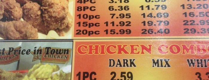 Donald Brown Chicken is one of Places to visit near DFW Airport.