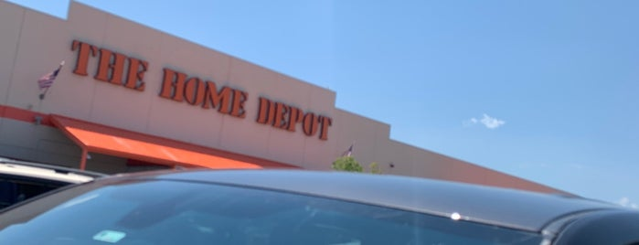 The Home Depot is one of Sheila : понравившиеся места.