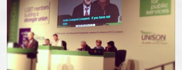 Unison National LGBT Conference is one of Traveling about with work.