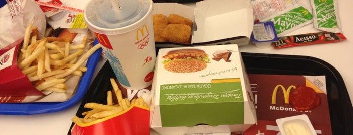 McDonald's is one of mehmetniyazi'nin Beğendiği Mekanlar.