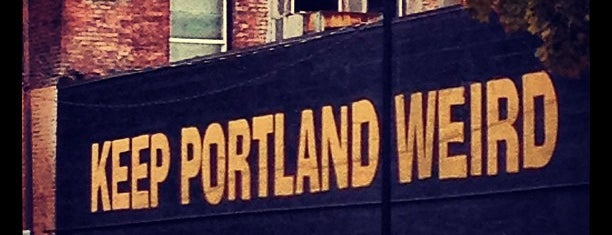 Keep Portland Weird is one of Portland Signs.