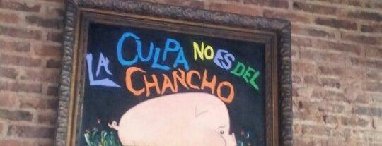La Culpa No Es Del Chancho is one of Lunch.