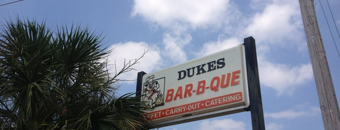 Dukes Bar-B-Que is one of Not Really Double Blind BBQ Evaluation of Augusta.