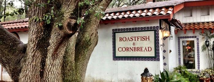 Roastfish & Cornbread is one of สถานที่ที่ Allen ถูกใจ.