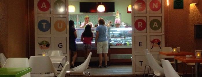 Aventura Gelato - Italian Ice Cream is one of Mexico! Traigame El Pulque!.