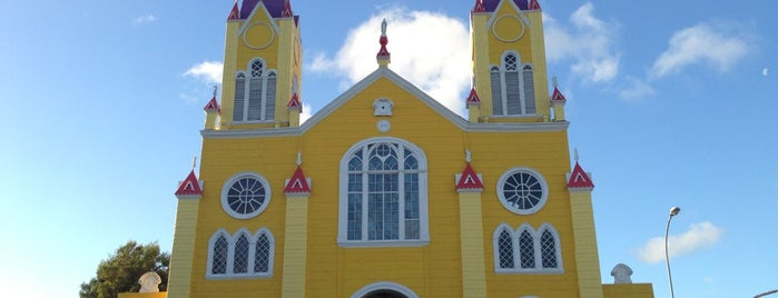 Iglesia San Francisco de Castro is one of Chiloe 2012.