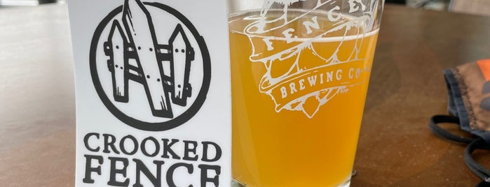 Crooked Fence Brewing Taproom is one of Brewery & Distillery To-Do List.