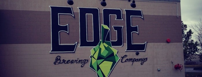 Edge Brewing Co. is one of Lugares guardados de Cathy.