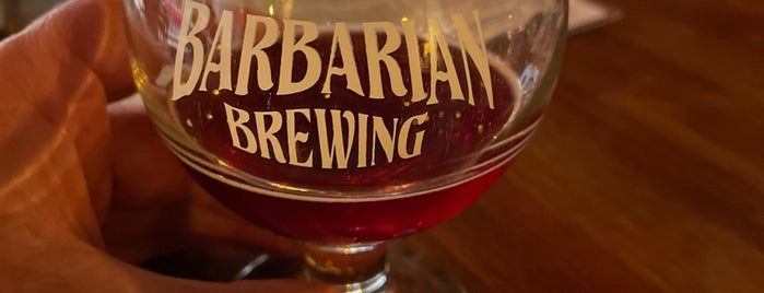 Barbarian Brewing Downtown Tap Room is one of Boise Trip.