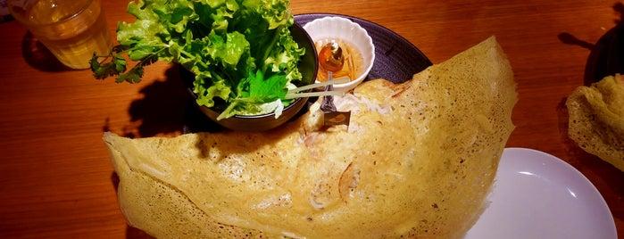 Banh Xeo Saigon is one of ウーバーイーツで食べたみせ.