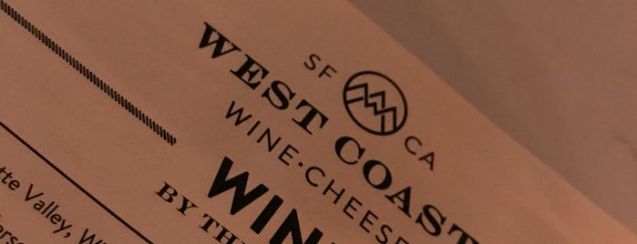 West Coast Wine • Cheese is one of Lieux qui ont plu à Mark.