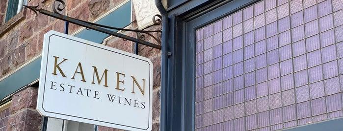 Kamen Estate Wines is one of Napa.